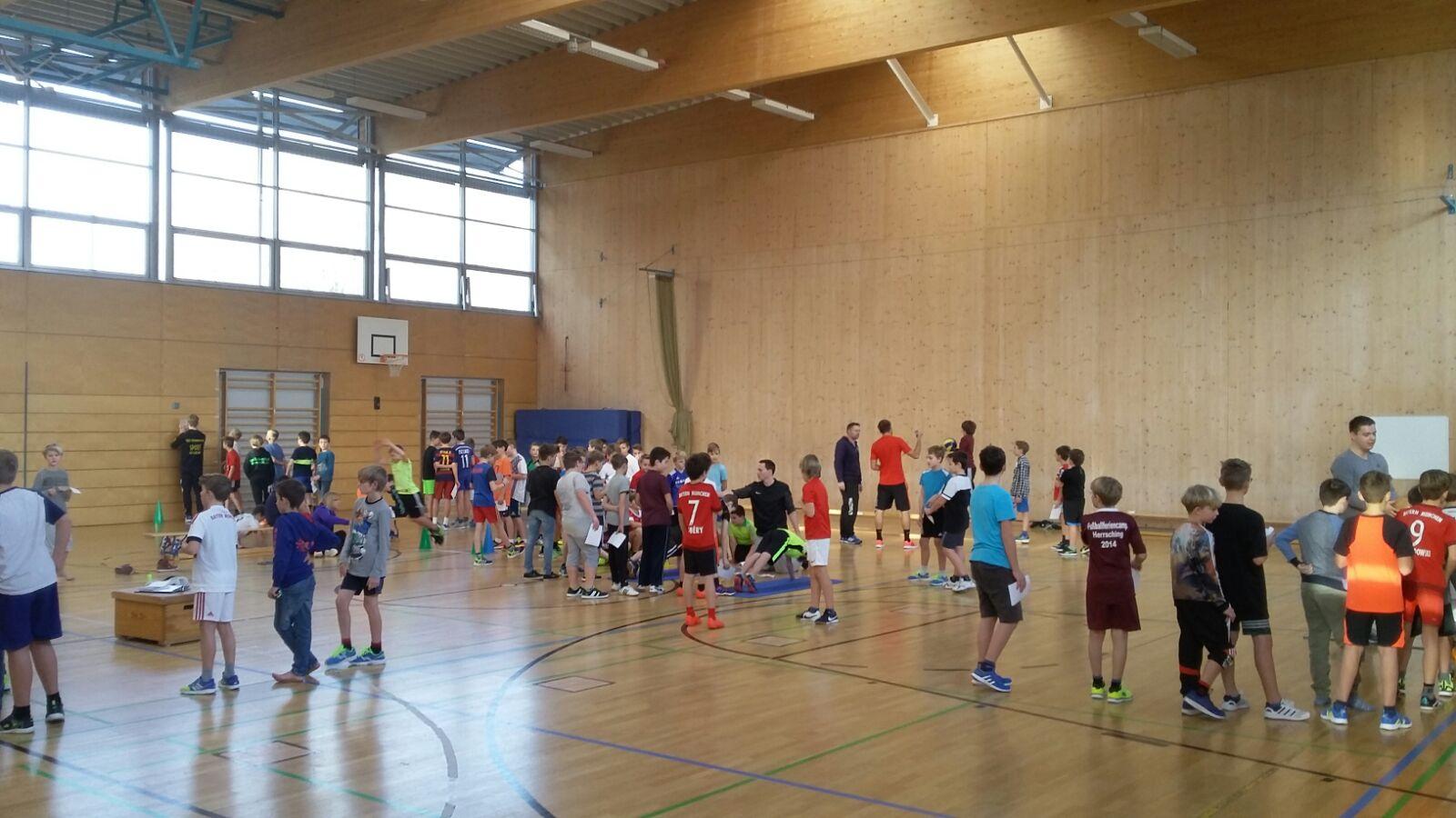 Volleyballsichtung in der Realschule Herrsching