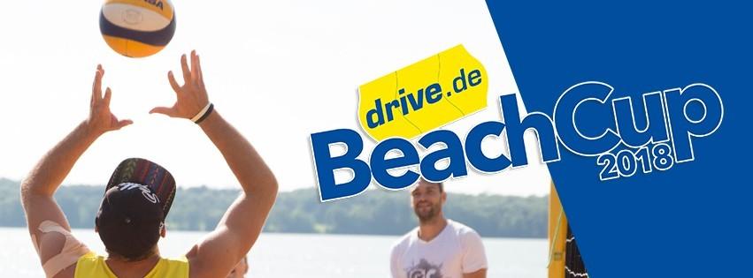 Zum ersten Mal findet 2018 der Drive.de BeachCup statt.
