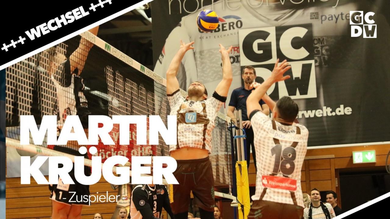 Martin Krueger wechselt zum VfB Friedrichshafen