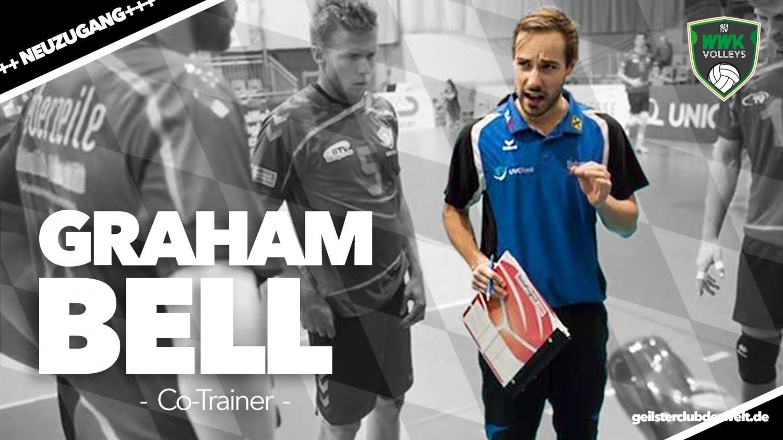 Neuer Mann auf der Trainerbank - der Ire Graham Bell.