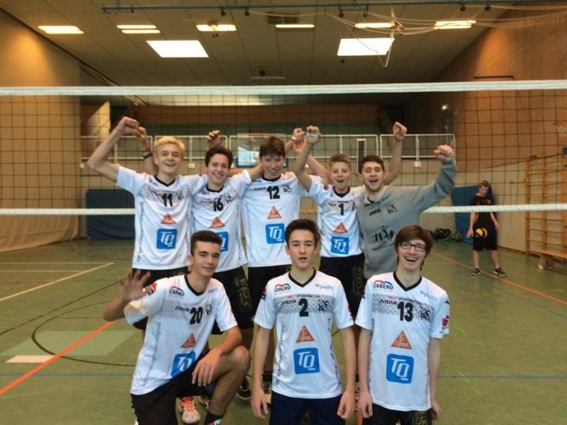 Ergebnisse der männlichen Jugend vom TSV Herrsching nach den Spielrunden